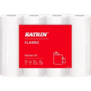 Haushaltsrolle Katrin Classic weiß 2-lg., 50 Blatt / Rolle
