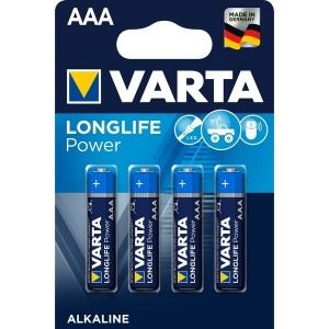 Varta Longlife Power Batterie Micro AAA, 4er Blister
