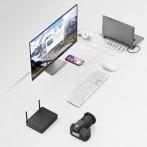 USB-C-Docking-Station, 9 in 1, 4x USB-A, USB-C, HDMI?, LAN, SD,