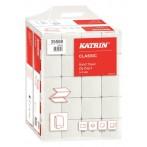 Falthandtuch Katrin Classic ZZ 2 4000 Blatt, 2-lg. weiß 24,4 x 23cm