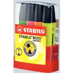Textmarker Stabilo Boss Original 2-5mm nachfüllbar 8erEtui sort