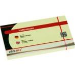 Büroring Haftnotiz FSC 100 Blatt pastellgelb 125x75mm
