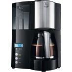 Kaffeemaschine Oprima Timer schwarz- edelstahl, Glaskanne für 8-12 Tassen