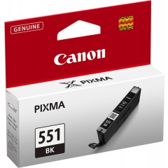 Tintenpatrone CLI-551XLBK schwarz für Pixma MG6350, MG5450, IP7250