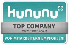 BBV-Domke ist als Kununu Top Company ausgezeichnet